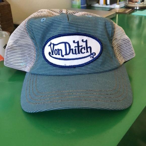 0497894f9e2 Vintage Von Dutch Trucker Hat. M 5a9323933b1608a988798f94